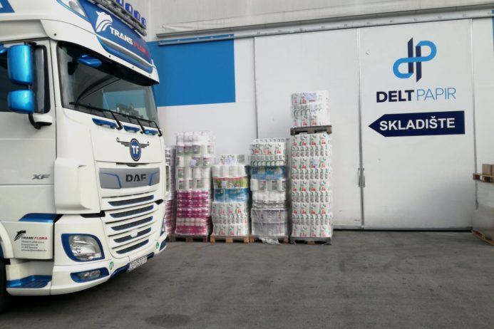 In 2020, DELT Papir sent 200 trucks to export image