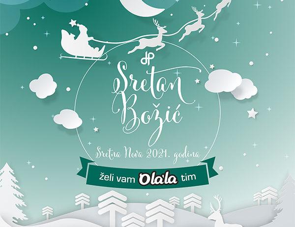 Želimo vam sretan Božić i uspješnu Novu 2021. godinu! image